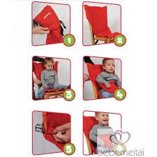chaise bébé nomade siège nomade bébé sack n seat