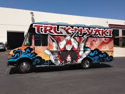 Truck-N-Yaki Food Truck Wrap - GeckoWraps Las Vegas Vehicle Wraps ... 2001 Travel Supreme Spring Lake Mi Us 17000 Ban Trucks Best Image Truck Kusaboshicom Products Corp Capital Commercial Raleigh Nc 817 2004 Western Star Feed With 1400t Mixer Youtube 4900 Body For Sale Jackson Mn 55649 New And Trailer Units Full 3 Front 1 Rear Lift Kit Chevy 0010 Silverado 2500hd 8lug Amazoncom Street Cruiser Complete 22 Bana Skateboard W Road Trip N Research Theferalblog 2006 1000ttm Mat Handling La Crosse Wi Inventory 2013 Court Case To Impact Trucking