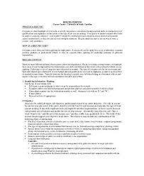 Personal Profile Resume Examples Ideas Cv Graduate