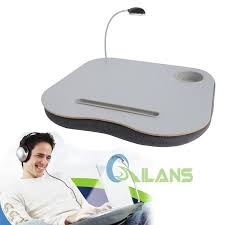 Padded Lap Desk With Light by Portable Lightweight Cushion Laptop Table Sofa Reading Tray Desk
