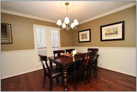 Painted Chair Rail Dining Room Colors With Awesome Two Paint In E