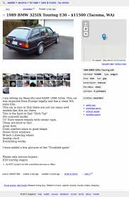 Would You Do $11,500 For This Rare 1989 BMW 325iX Touring? For Sale 2005 Dodge Ram 1500 Slt Rumble Bee 1 Owner Only 49k Craigslist Seattle Cars And Trucks By Owner New Car Updates 2019 20 Used Washington Atlanta Best Image Truck Kusaboshicom For 2500 This 1956 Dodge H Flatbed Is Dually Noted Best San Francisco Bay Area Motorcycles Sale The And Some Not Quite The Nflthemed Autotraderca Sf 7 Smart Places To Find Food Access Accessnacs Twitter Profile Twipu Fresh For By