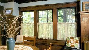 Sheer Curtains For Traverse Rods by Hanging Curtains U0026 Drapery 1900 U20131939 Arts U0026 Crafts Homes And The