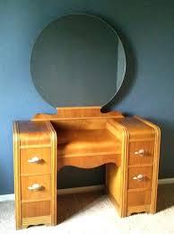 vanities antique vanity with mirror black antique wood makeup