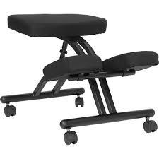 flash furniture mobile ergonomic kneeling chair walmart com