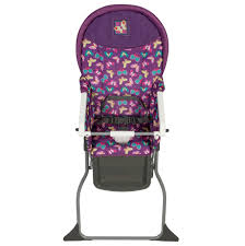 Butterfly Chair Replacement Covers Target by Cosco Simple Fold High Chair Butterfly Twirl Walmart Com