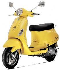 Vespa VXL 150cc Yellow