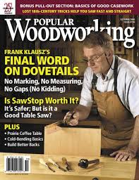 2005 issues of popular woodworking magazine