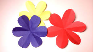 How To Cut A Perfect 6 Petal Flower DIY Paper Craft