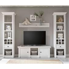 wandboard wingst 61 wohnzimmer regal im landhaus stil dekor pinie weiß nb b h t ca 150x20x17cm