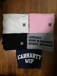 100 Carhart On Sale T WIP Mens Fashion Clothes Tops On Carousell