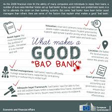 Graph Of The Week What Makes A Good Bad Bank European Commission