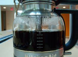 The KitchenAid Siphon At Completion Of Its Brewing Process Coffee Brewer