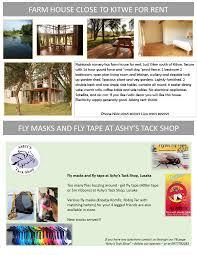 100 Farm House Tack 05122016 FLY MASKS AND FLY TAPE AT ASHYS TACK SHOP
