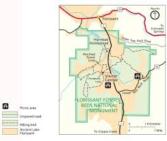 florissant fossil beds national monument maplets