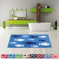 badematte badezimmer teppich in 60x120cm farbe blau