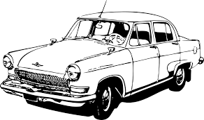 Volga Car Classic Vintage Soviet Union