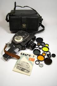 100 Krasnogorsk 2 Soviet Camera 83 QUARTZ X8S3 Soviet S8 Movie Camera Meteor 8M1 In A Box Movie Camera