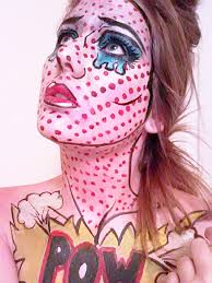 Roxy Hunter And The Horrific Halloween Online by Pop Art Body Painting Halloween Ideas Face Art Body Art Drawing