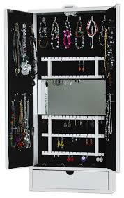 jewelry storage cabinet hinge mounted contemporary jewelry
