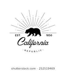 California Republic Retro Emblem