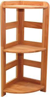praktisches regal beethoven 90x33x33cm eckregal echtholz buche geölt für wohnzimmer büro oder kinderzimmer echtes holz