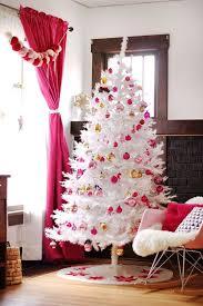 White Christmas Tree Skirt Walmart by Christmas Walmart Pink Christmas Tree Prince Flock Pencil Trees