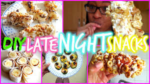Good Snack Before Bed by Diy Late Night Snack Ideas Fionabrianne Youtube