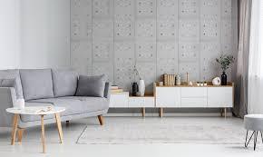 beton optik an den wänden