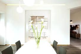 Minimalist Dining Room White Furniture