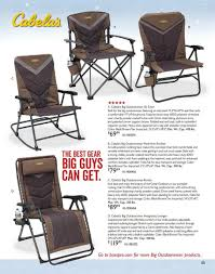 Bass Pro Shops Holiday Books 2018 Ads Scan, Deals And Sales - Page ... Ideas Tips Enchanting Cabelas Cot For Outdoor Activity Pick The Right Camping Chair Overland Or Car Gearjunkie R Sanity Rv Adventures Goldilocks And The Three Chairs Outdoor Rocking Chair Were Minivan Find Offers Online Compare Prices At Storemeister Homesullivan Cabela Distressed Ash Wood Metal Ding Set 2x Zero Gravity Lounge Patio Folding Recliner Bungee Desk Bass Pro Shops Authority Sale Camp Hiking Best Of Model Which Is Most Comfortable Deck Fniture Stackable Chaise White Pool 2017 Canada Spring Summer Catalogue By Belascanada Issuu Guide Gear 360 Swivel Hunting Blind 637654 Stools