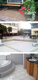 our decorative concrete coating provide you with hundreds of