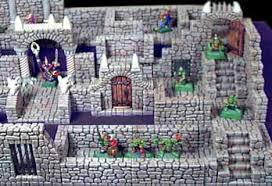 detailed dungeon pieces