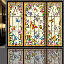 Sidelight Window Curtains Amazon by Amazon Com Ostepdecor Custom Multicolor Butterfly Translucent Non