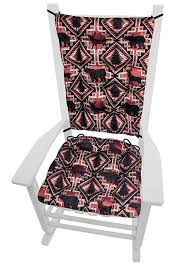 Larston Brick Rocking Chair Cushions With Ties - Extra-Large - Latex Foam  Cushion - Woodlands Rustic Lodge & Lake House Decor (Red, Black/Bear, Deer) My Favorite Finds Rocking Chairs Down Time Exciting Rattan Wicker Chair Cushions Agreeable Fniture Rural Grey Wooden Single Rocking Chair Departments Diy At Bq Outdoor A L Hickory 7 Slat Rocker In 2019 Handsome Green Tweed Cushion Latex Foam Rustic American Sedona Lowes For Inspiring Antique Classic Check Taupe Plaid Standish Darek La Lune Collection Belham Living Raeburn Rope And Wood Walmartcom
