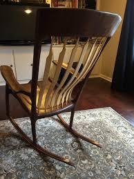 Sam Maloof Style Rocking Chair -