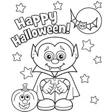 Kids Halloween Coloring Sheets
