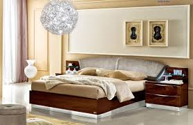 Made in Italy Wood Elite Platform Bed with Extra Storage Denver