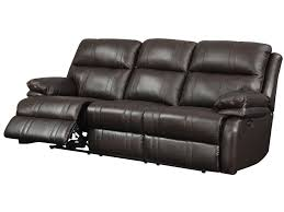Raymond And Flanigan Dressers by Happy Leather Company 1286 Power Reclining Sofa With Soft Pillow