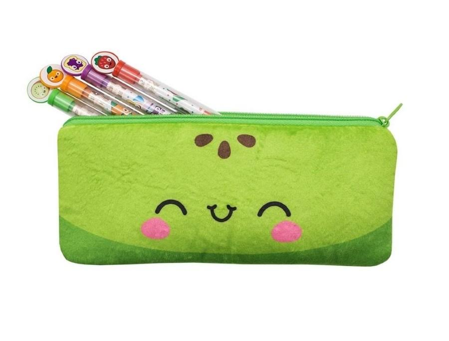 Scentco Cutie Fruities Scented Pencil Pouch - Green Apple