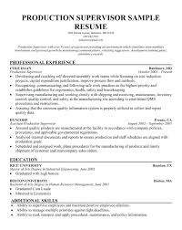 Production Worker Job Description Resume Sample Warehouse Supervisor For Lead General