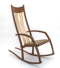 Buy Hand Crafted Scandinavian Style Rocking Chair With Long ...