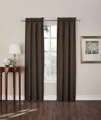 Eclipse Thermaback Curtains Walmart by Sun Zero Shawn Room Darkening Window Curtain Panels 2 Piece