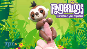 Fingerlings Baby Sloth From WowWee