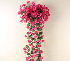 Encryption Violet Wall Mounted Simulation Flower Cane Adornment Crane Orchid Family Shopping Mall Hotel Balcony Wedding Flowers Cork
