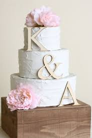 Wedding Cakes Initial Cake Toppers For Gallery Diy Ideas New