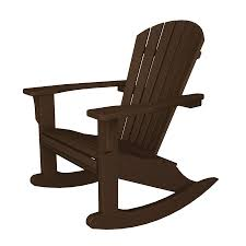 US Leisure Cappuccino Resin Stackable Adirondack Chair At ...