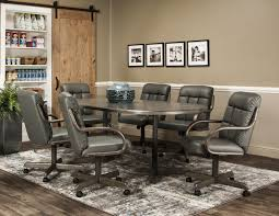 Caster Chair Company 7 Piece Dining Set - WE5Z90-72 Table ... Buy Round Kitchen Ding Room Sets Online At Overstock Amish Fniture Hand Crafted Solid Wood Pedestal Tables Starowislna 5421 54 Inch Country Table With Distressed Painted Pedestal Typical Measurements Hunker Caster Chair Company 7 Piece Set We5z9072 Wood Picture Decor 580 Tables World Interiors Austin Tx Clearance Center Dinettes And Collections Costco Saarinen Tulip Marble