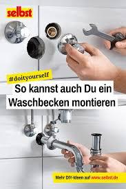 waschbecken montage selbst de waschbecken kleines
