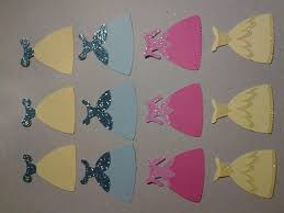 """Items similar to 12 count disney princess 2 1 2"""" dress snow white belle sleeping beauty cinderella cupcake topper cut out on Etsy"""